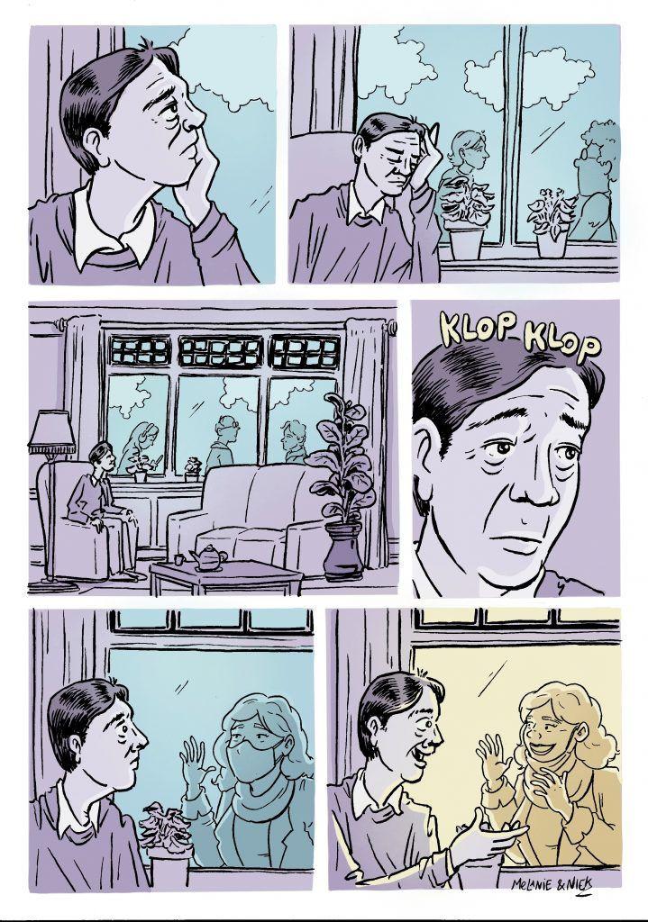 Strip Een tegen eenzaamheid