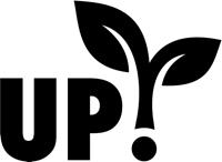 Logo UP! van in je Uppie, initiatief in het PRIL-overzicht